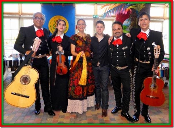 Dwayne, Carolina & Los Mexcales